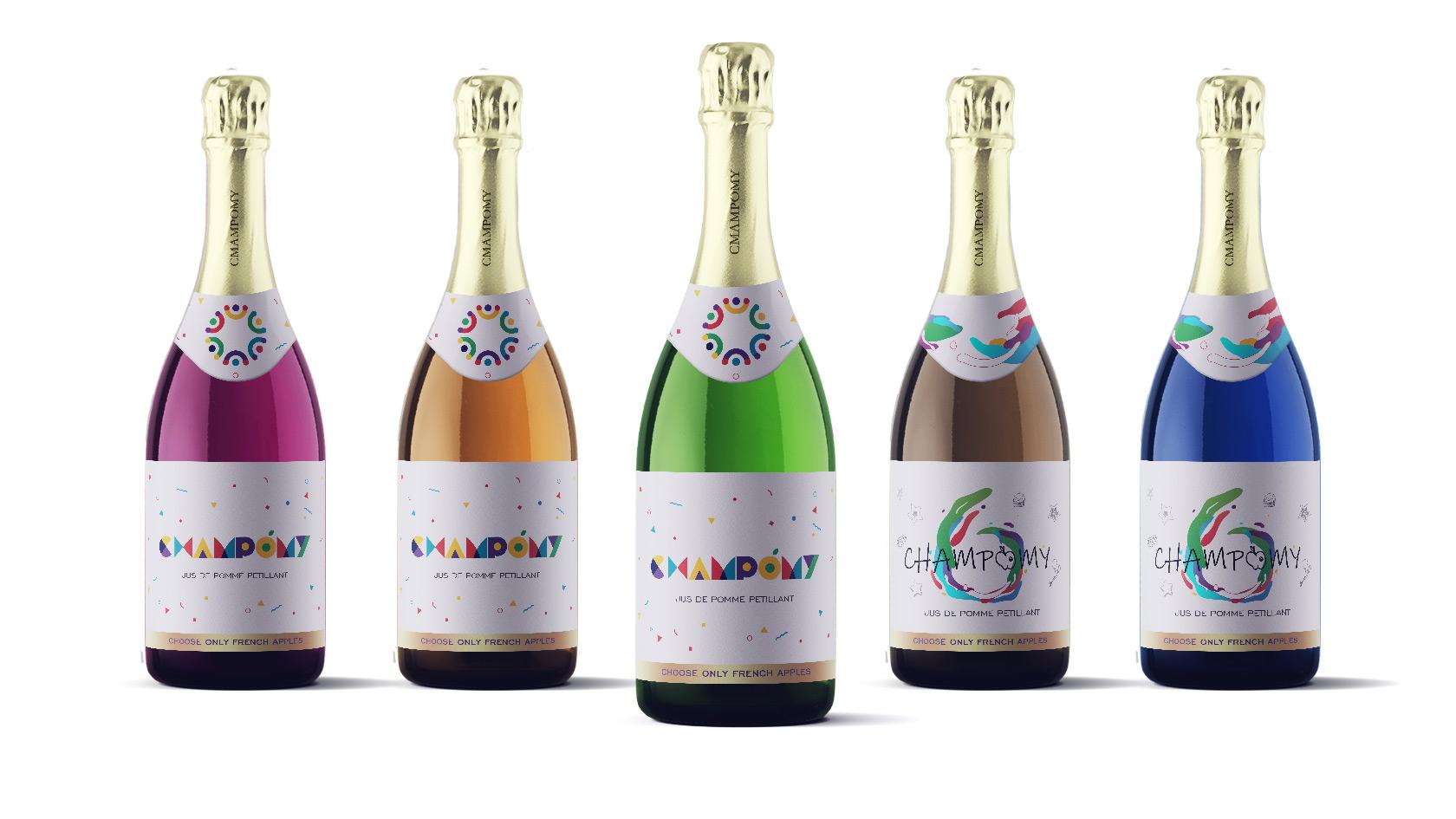 香槟logo10