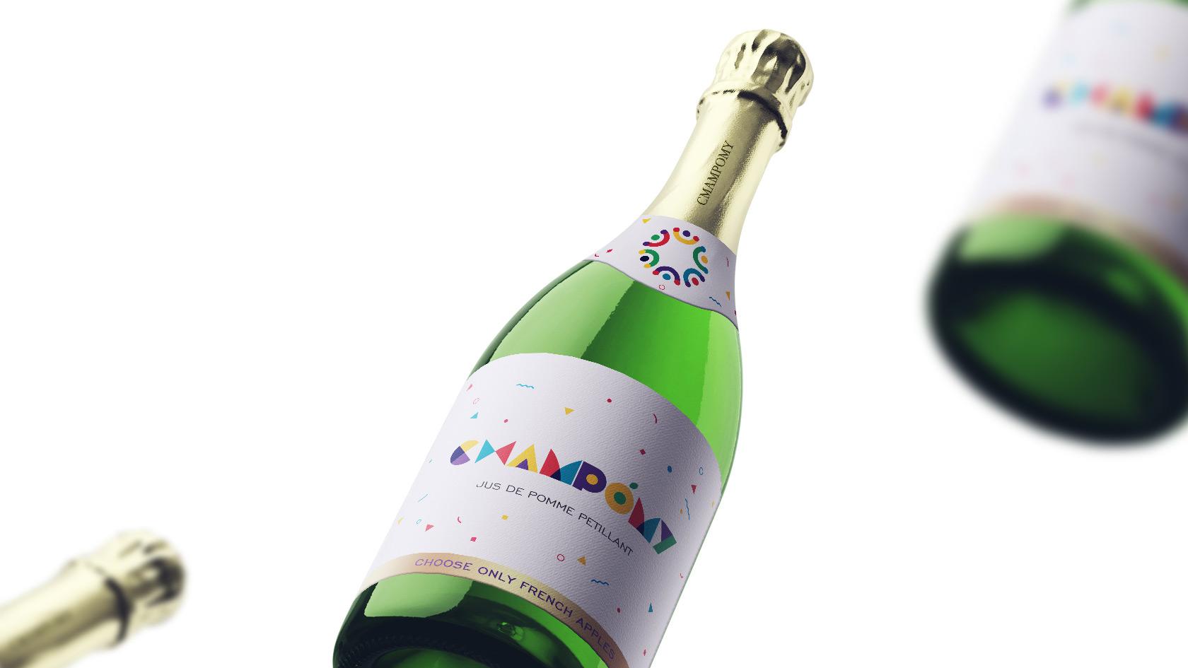 香槟logo7