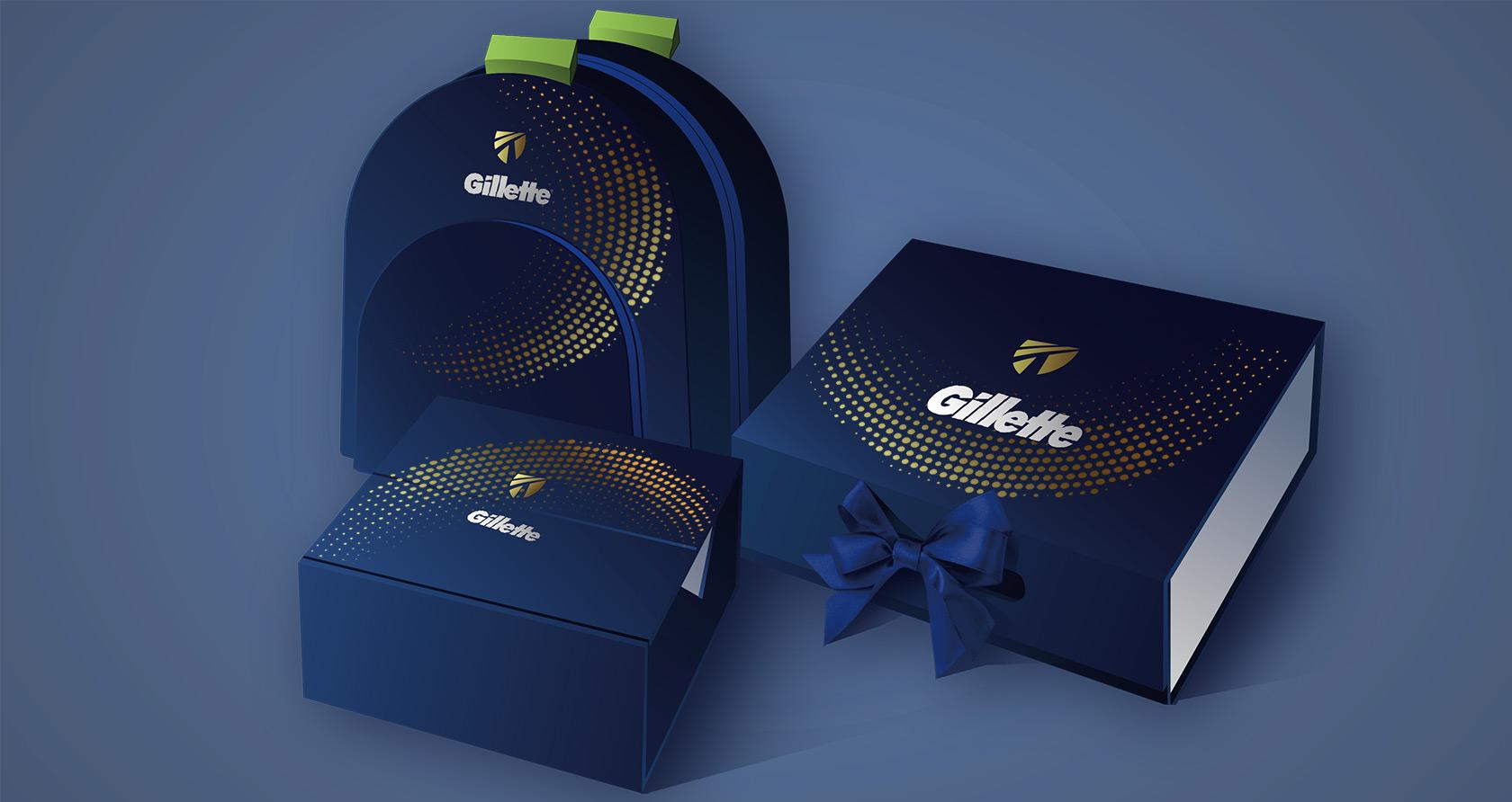 Gillette Christmas gift box(2020)
